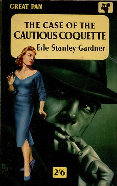 "Erle Stanley Gardner's ""The Case of the Cautious Coquette"" from uk vintage, via Flickr"