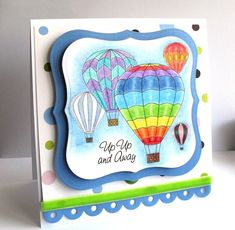 Hot Air Balloons as requested – First Posted: Thursday, April 2010 Hot Air Balloon Paper, Back To School Art, Balloon Race, Flower Doodles, Doodle Flowers, Bird Cards, Ballon, Digi Stamps, Card Tags