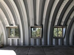 Quonset Hut End Wall Construction - Clever Moderns Metal Building Kits, Steel Building Homes, Building A House, Hut House, Dome House, Craftsman Style Kitchens, Quonset Hut Homes, Container House Plans, Shed Homes