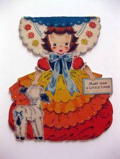 1947 hallmark doll card land of make believe series 5 little red rh za pinterest com