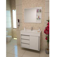 Os conjuntos para banheiro garantem muito charme, economia para a decoração e possuem todas as peças necessárias para a organização do espaço.