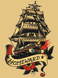 Another Sailor Jerry Classic by roleATL, via Flickr I want me a sailor jerry tattoo!!