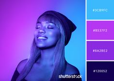 Discover a neon color palette for every occasion, from bold party invitations to dramatic website designs. Get these hex color codes for the best neon hues. Lila Palette, Neon Colour Palette, Purple Color Palettes, Purple Palette, Color Palate, Purple Color Code, Website Color Palette, Purple Color Schemes, Palette Violette