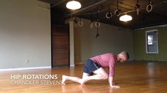 """This is """"Hip Rotations"""" by Breaking Muscle on Vimeo, the home for high quality videos and the people who love them. Muscle Stretches, Hip Stretches, Stretching, Hip Pain, Back Pain, Hip Flexor Exercises, Psoas Release, Hip Mobility, Tight Hip Flexors"""