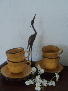 Italy Pagnossin cup and saucer by Veryodd on Etsy, $35.00