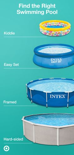 Get summer-ready with an above-ground swimming pool. Find the perfect pool with our helpful buying guide. Get summer-ready with an above-ground swimming pool. Find the perfect pool with our helpful buying guide. Above Ground Swimming Pools, Swimming Pools Backyard, Swimming Pool Designs, In Ground Pools, Pool Landscaping, Stock Tank Pool, Diy Pool, Dream Pools, Outdoor Fun
