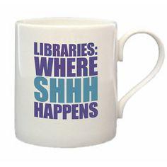 Libraries: Where shhh happens!