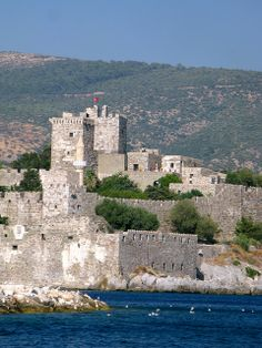 Bodrum, Turkey- took a boat trip around the bay, bought leather jackets and handbags. Drank Turkish coffee, yum.