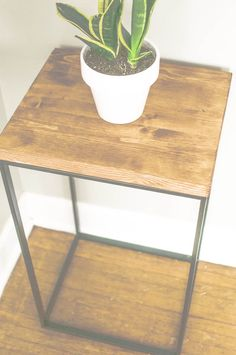 ikea hack sidetable. Extra kitchen space?