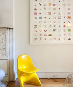 Designer Jan Eleni Lemonedes will archive your child's collection of artwork and create a collaged print with smaller images of your child's artwork. You send her and her team the art, which will be returned to you once the print is made.
