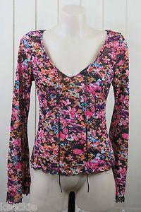 Size M 12 PER UNA Ladies TOP Blouse Peasant Gypsy Casual Boho Chic Layer Design | eBay