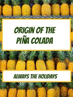 Discover the origin of the popular summer drink, the Piña Colada #drinks #cocktails #booze Puerto Rican Rum, Popular Cocktails, Signature Cocktail, Pina Colada, Refreshing Drinks, Favorite Holiday, Bartender, Party Time, Celebrations