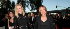 Nicole Kidman Joins Keith Urban On The Grammys Red Carpet