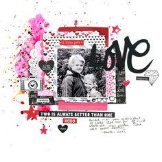 Love by christingronnslett at @studio_calico