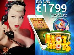 Congratulations to gaba12 for winning € 1799.00 just from one € 5 spin on Hot Shots at www.eat-sleep-bet.com! Keep it up, girl! Best Online Casino, Hot Shots, Casino Games, Eat Sleep, Online Games, Spin, Have Fun, Congratulations