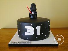 Bolos lindos de comer: Bolo Star Wars Darth Vader /Star Wars Darth Vader cake
