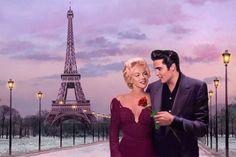 Paris Sunset Kunstdruk by Chris Consani