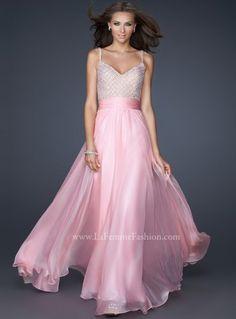 #LaFemme 17138 Cotton Candy Pink prom dress, #InternationalProm #Prom #Promdress #Prom360