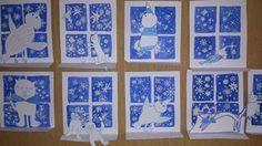 Winter Art Projects, Winter Project, Winter Crafts For Kids, Christmas Art, Christmas Projects, Winter Christmas, Drawing For Kids, Art For Kids, Winter Jokes