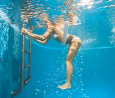 Get Toned in the Pool: Workouts: Self.com:Shed pounds in the pool without swimming laps (or sweating buckets). Our cool workout is a hot-day hit that gets results fast.