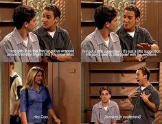 Boy Meets World. haha I love it!