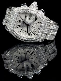 The Cartier Roadster, introduced in 2001, was inspired by race cars from the 50's and 60's.
