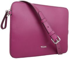$195, Mobile Accessory Slim Zip Top Crossbody by Tumi. Sold by Zappos. Click for more info: http://lookastic.com/women/shop_items/104004/redirect