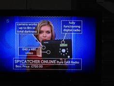 SPYCATCHER ONLINE Pure DAB Radio £720