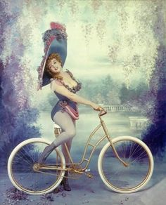 "Marilyn as Lillian Russell(1861-1922), turn of the century American actress. In 1958, Life Magazine invited Marilyn Monroe and photographer Richard Avedon to recreate images of five celebrated actresses of different eras. Entitled ""Fabled Enchantresses,"" the piece was part of the magazine's December 22 ""Christmas"" issue and included an article by Marilyn's playwright husband, Arthur Miller, entitled ""My Wife, Marilyn."" """