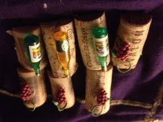 refridgerator magnets Candle Warmer, Corks, Homemade Crafts, Diesel, Magnets, Budget, Candles, Handmade, Food