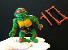 Raphael Soft Head Teenage Mutant Ninja Turtles TMNT Figure 1988 on Etsy, $12.00