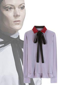Camisas enlazadas  http://www.valentinacuriosea.com/2015/11/camisas-con-lazo.html