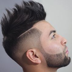 Top 100 Men's Hairstyles & Haircuts for Men - Hairstyle Man Top Hairstyles For Men, Undercut Hairstyles, Hairstyles Haircuts, Haircuts For Men, Hairstyle App, Undercut Fade, Shaved Hairstyles, Indian Hairstyles, Hair And Beard Styles