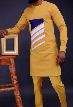 African Wear Styles For Men, African Shirts For Men, African Attire For Men, African Clothing For Men, Couples African Outfits, African Dresses Men, Nigerian Men Fashion, African Men Fashion, Designer Suits For Men