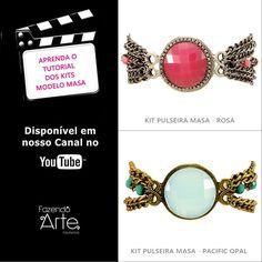 Meninas, mais um passo a passo em nosso canal no Youtube!!! Aprendam o tutorial dos kits modelo Masa. É a mesma técnica para as cores rosa e turquesa! Esses kits estão disponíveis em nosso site! ;) https://www.youtube.com/watch?v=LfjVQ3WmxnY