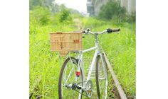 Vintage Bike Basket Rear Rack Wicker Folding Lady City Bicycle Rattan Retro Thai  Classic Bike Basket from Thailand is using rattan species which can be found only in the south east asia. Easy for installation and remove on rear,front rack with special cable tie which can unlock it. :Product Details: Model: Rear Weight : 600 Grams Dimension ( Size L ) : Width-24cm Length-35cm Height-20cm Color: Natural Country of Manufacture : Thailand  In Stock, Ready to Ship Now!  We ship WORLDWIDE. The…