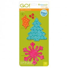 GO! Holiday Medley - Snowflake, Tree, Holly Leaf & Berries 55043