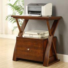 22 great printer stand images desk office furniture organizers rh pinterest com