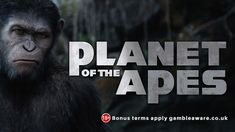 Play Planet Of The Apes latest online slot game with amazing graphics and sound effects at CasinoUK. Play now!! https://www.casino.uk.com/game/planet-of-the-apes?tcode=socialVIP