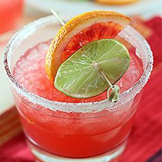 Blood Orange Margarita - Blood Orange is such a sorely under-utilized gem