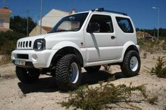 Jimny -how mine would look with bighorns