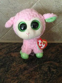 77c854f4fcd NWT Ty Beanie Boo 2014 BABS - The Lamb - Excellent 6 inch - NEW - HTF - RARE