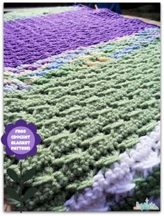 Free Kids Size Afghan Pattern: Crochet How To - Enlarging Patterns