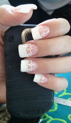 My wedding nails maybe? Need to find a salon here in town and see if they will do this.