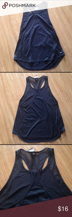 Nike Mesh  tank  top Worn once like new condition Nike Tops Muscle Tees