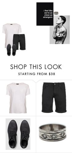 """""""I Feel Like We're as Close as Strangers"""" by danielsfashion ❤ liked on Polyvore featuring COSTUME NATIONAL, SELECTED, AllSaints, Child Of Wild, men's fashion and menswear"""