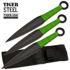 3 Pc ZOMBIE Throwing Knive Set