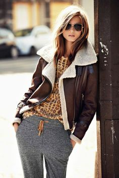a great weekend look! Especially the jacket...