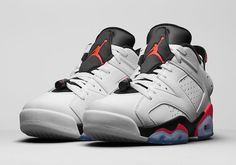 """The Air Jordan 6 Retro Low 'Infrared' drops Saturday at Nike Chicago."