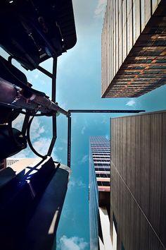 Sky Towering Skyscrapers by Eva Bouvard